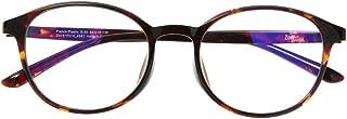 ボストン型PCめがね Zoff PC CLEAR PACK (ブルーライト50%カット) ゾフ PCメガネ 眼鏡 めがね 黒縁 ダテメガネ メンズ 男性用 レディース 女性用 プラスチック (ボストン:ブラウン)