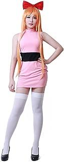 Miccostumes Women's Blossom Bubbles Buttercup Cosplay Costume