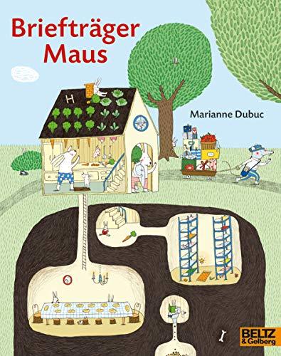 Briefträger Maus: Vierfarbiges Bilderbuch (MINIMAX)