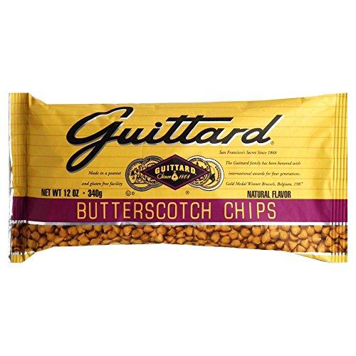Guittard Butterscotch Chips, 12 Ounce -- 12 per case.