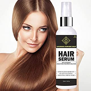Luxurious Ayurvedic Gold Hair Serum (100 ML) (Pack of 1)