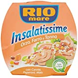 RIO MARE Ensaladas de Ri'o Mare con cebada, escanda y atu'n 6 x 160 gr