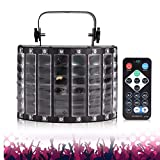 JLHBM ダンスパーティーバー用リモコン付きDJディスコライト LEDライトパーティーDMX512サウンド活性化ストロボライトステージライト JLHBM