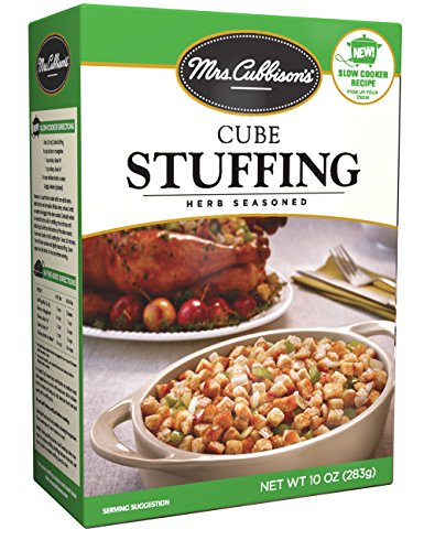packaged stuffing side dishes Mrs. Cubbison's Stuffing Mix, Herb Seasoned, 10 oz