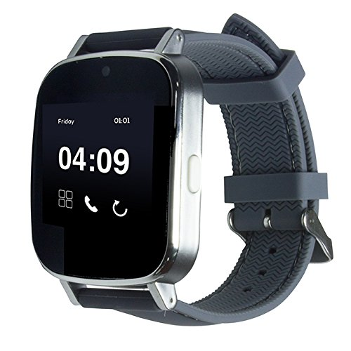 PRIXTON swa20 - Smartwatch de 1.54' (Bluetooth, Android) Color Gris