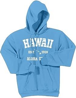 Vintage Hawaiian Islands Logo Hoodies - Hooded Sweatshirts. in Sizes S-5XL