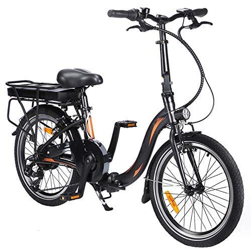 Roeam Bicicleta eléctrica Plegable, Bicicleta Eléctrica Adultos con Motor de 36V / 250w y Neumáticos de 20 Pulgadas,Campo de prácticas de 50-55 km