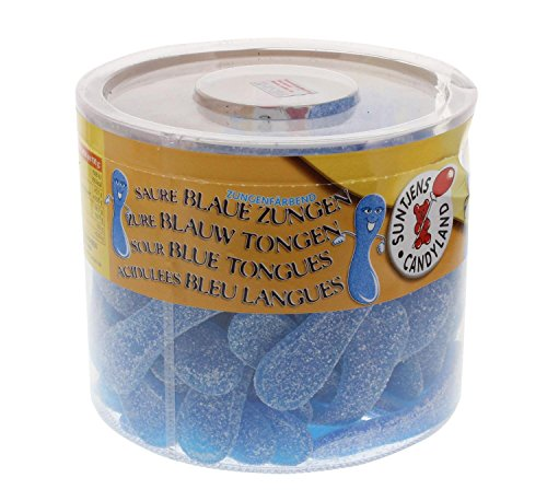 Suntjens Saure Blaue Zungen 100St/1,1kg