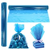 "Cellophane Wrap Roll Blue | 100' Ft. Long X 16"" in. Wide 
