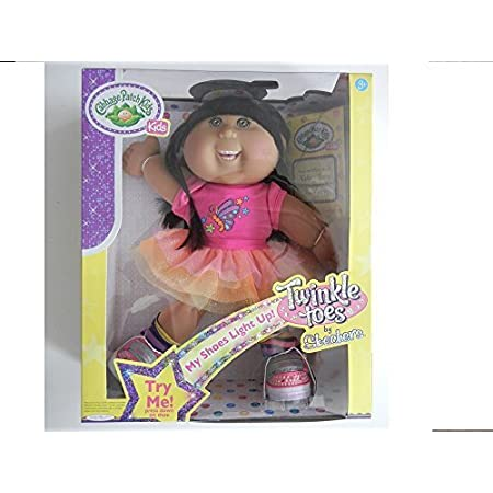Amazon Com Cabbage Patch Kids Twinkle Toes Hispanic Brown Hair Brown Eyes With Dental Braces Toys Games