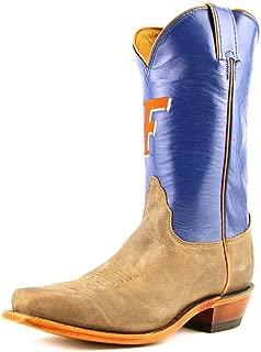 Nocona Womens LDUF22 University of Florida Collegiate Embroidered Boots-Tan