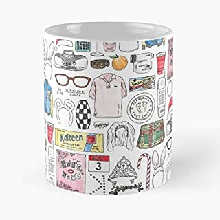 Mean Girls 2000s - Handmade Funny 11oz Mug Best Holidays Gifts For Men Women Friends.