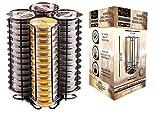 Ever Rich  Porte-dosette à capsules T-Disc pour capsules de café Tassimo (56 BLACK)