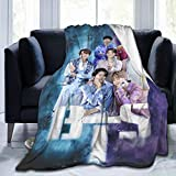 Oneposy Flannel Blanket, Lightweight Cozy Sofa Bed Blanket, Suitable for Adults and Children, Can Be Used As Birthday 50'X40'