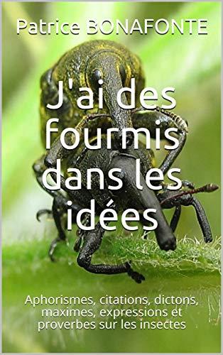 J Ai Des Fourmis Dans Les Idees Aphorismes Citations Dictons Maximes Expressions Et Proverbes Sur Les Insectes Ebook Bonafonte Patrice Amazon Fr