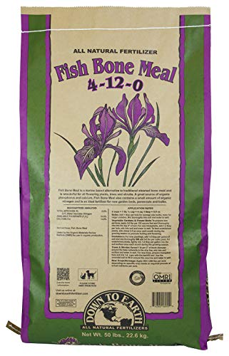 Down to Earth Organic Fish Bone Meal Fertilizer Mix