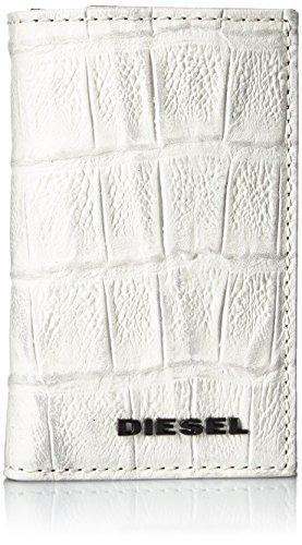 (ディーゼル) DIESEL メンズ キーケース 型押しクロコ X03901P0178 UNI ホワイト T1003