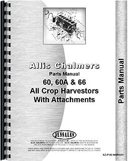 Allis Chalmers 60 66 Combine Parts Manual (AC-P-60 HARACH)