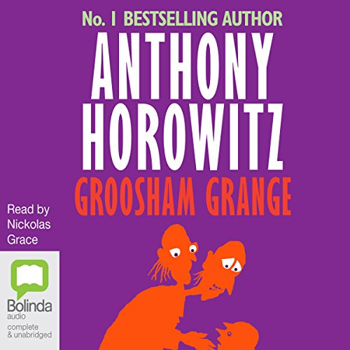 Groosham Grange audiobook cover art