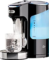 Boils a cup of water in under 50 seconds, ideal for busy families 2 Litre tank holds enough water for up to 10 cups; ideal for instant coffee, tea, hot chocolate, noodles and more Variable single cup dispense allows you to choose from nine different ...