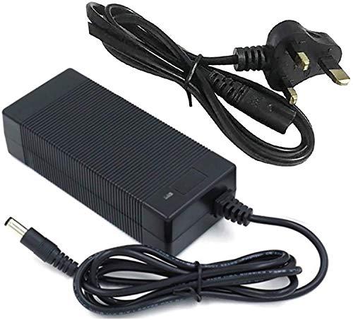N\C Cargador de batería de Scooter eléctrico, 29.4V / 42V / 54.6V / 67.2V 2A Adaptador de Cargador para Cargador Mobility Scooter Charger para Silla de Ruedas eléctrica Golf Buggy E-Bike, Negro