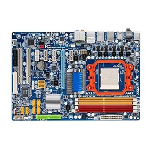 Placa Base Fit For Gigabyte GA-MA770-UD3 GA-MA770-UD3 770 Socket AM2 + DDR2 Placa Base De Escritorio