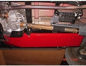Rock Hard 4x4 Gas/Fuel Tank Skid Plate for Jeep Wrangler JK 2DR 2007 - 2017