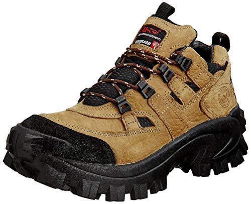 Woodland Men Dbrown Leather Sneakers-8 UK/India (42 EU) (G 40777CMA)