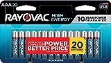 Rayovac AAA Batteries, Alkaline Triple A Batteries (20 Battery Count)