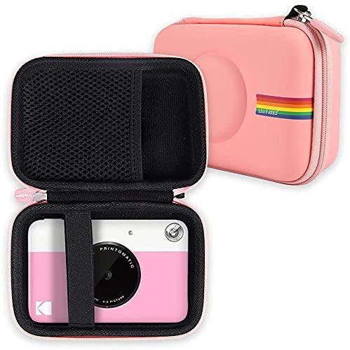 La custodia per fotocamera Leayjeen è compatibile con le fotocamere digitali a stampa istantanea Kodak Printomatic (solo custodia) (Pink)