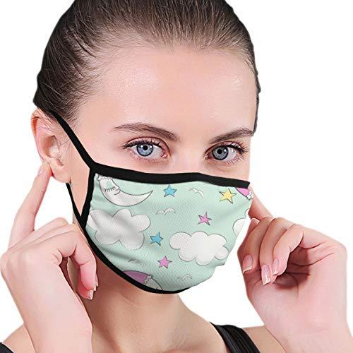 Doinh Black Edge Mask, Goede Nacht, Honing (groene speeltuin), stofmasker, Geschikt voor mannelijke en vrouwelijke maskers