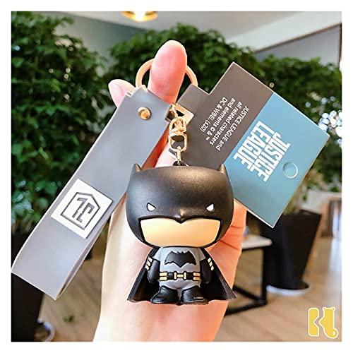 Xx101 Schlüsselbund Batman Cartoon Superman Puppe Keychain Großhandel Schlüsselring Frau Geschenk Hohe Qualität Neue Nette Mode Auto Schlüsselanhänger (Color : Snow Camouflage)