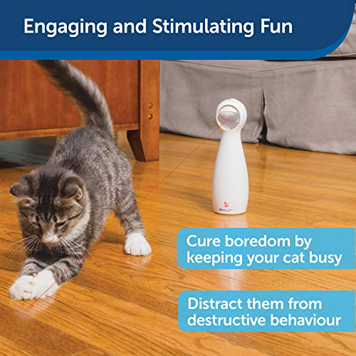 PetSafe FroliCat Stimulating Exercise Laser Cat Toy, Adjustable