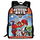 Jigbais Kids School Bags Tra-NSF-Orme-rs Res-cUE Bo-TS Backpacks Student Bookbag for Boys Girls