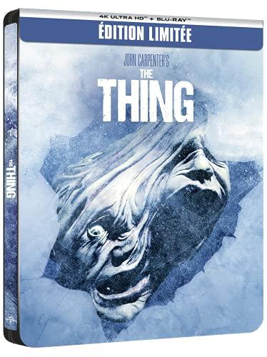 The Thing [4K Ultra HD + Blu-Ray-SteelBook édition limitée]