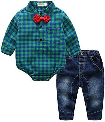 swall owuk bebé joven Ropa sakkos trajes cuadros camisa ...