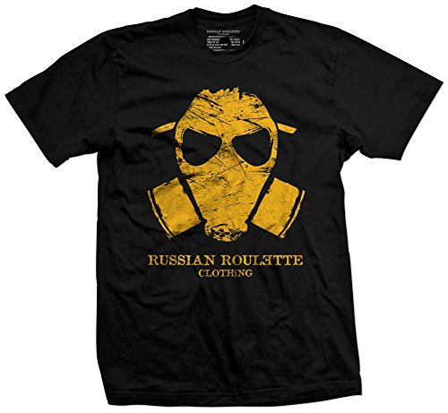 Russian Roulette Clothing Recycle More Humans Men's T-Shirt Black X-Large