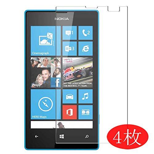 Vaxson 4 Stück Schutzfolie für Microsoft Lumia 435, Bildschirmschutzfolie Displayschutz Blasenfreies TPU Folie [Nicht Panzerglas]