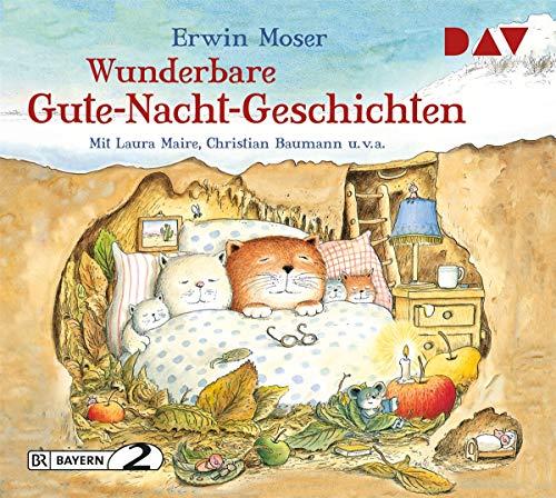 Wunderbare Gute-Nacht-Geschichten: Lesung mit Laura Maire, Christian Baumann u.v.a. (1 CD)