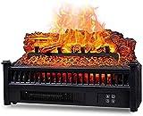 El calentador eléctrico de la estufa eléctrica del calentador de la chimenea, la ilusión incendientemente incendio de 1800W con la ilusión de chimenea de 15W LED, el romance del fuego, para el dormito