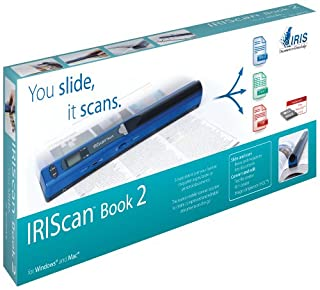 IRIS IRISCan Book 2 - Escáner de Documentos portátil (A4, USB), Azul (B004V4649C) | Amazon price tracker / tracking, Amazon price history charts, Amazon price watches, Amazon price drop alerts