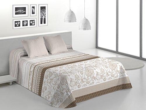 Gale Hayman Couvre-lit Style Trento 245 x 260 x 5 cm Blanc