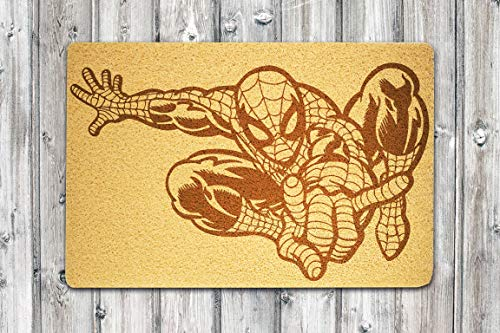 StarlingShop Felpudo diseño de Spider Man, cumpleaños