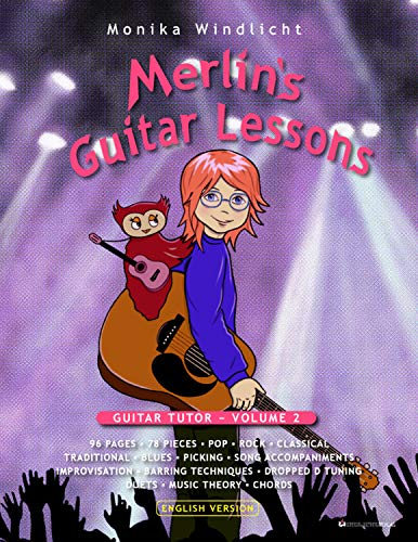 Merlin's Guitar Lessons: GUITAR TUTOR − VOLUME 2 (English Edition)