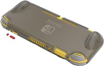 Miaoqian TPU antiderrapante Anti-fingerprint TPU Superfície fosca Proteção C-ase Botão de cor compatível com Switch Lite (...