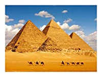 ジグソーパズル 街の写真シリーズジグソーパズル-神秘的なエジプトのピラミッド-すべてのピースはユニークで、ピースは完璧に調和しています(木製300/500/1000ピース) BBJOZ (Size : 500pcs)