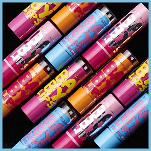 Baby Lips Moisturizing Lip Balm, Pink Punch, 0.15 oz.