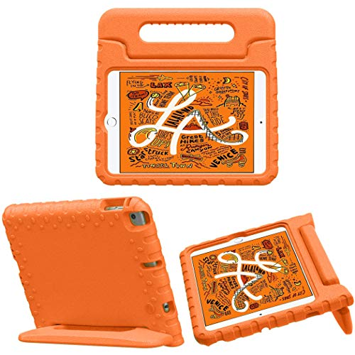 iMoshion - Funda con asa compatible con iPad Mini (2019), iPad Mini 4, color naranja