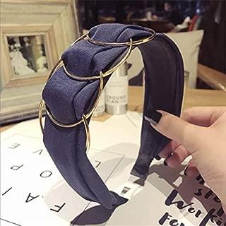 Hair Bands   Korean Boutique Hairband Golden Ring Wide Headband Women Girl Hair Head Hoop Bands Accessories For Girls Hair Scrunchy Headdress   By BATULY