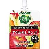野菜生活100 1食分の野菜ジュレ すりおろしリンゴ 180g×30個